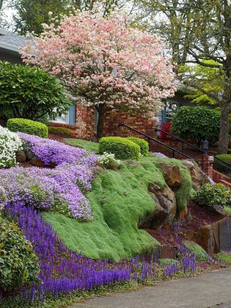 30 Incredible Front Yard Landscaping Ideas - Page 5 of 30 ... on Front Yard And Backyard Landscaping Ideas id=91037
