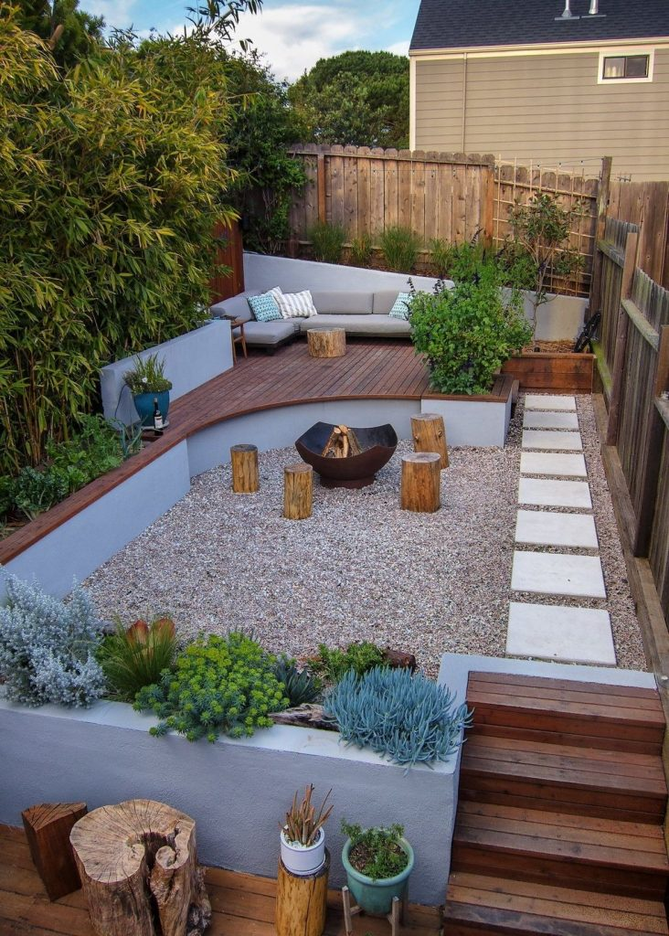 30 Perfect Small Backyard & Garden Design Ideas - Page 21 ... on Small Backyard Layout id=26122