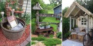Simple And Rustic DIY Ideas For Your Backyard And Garden