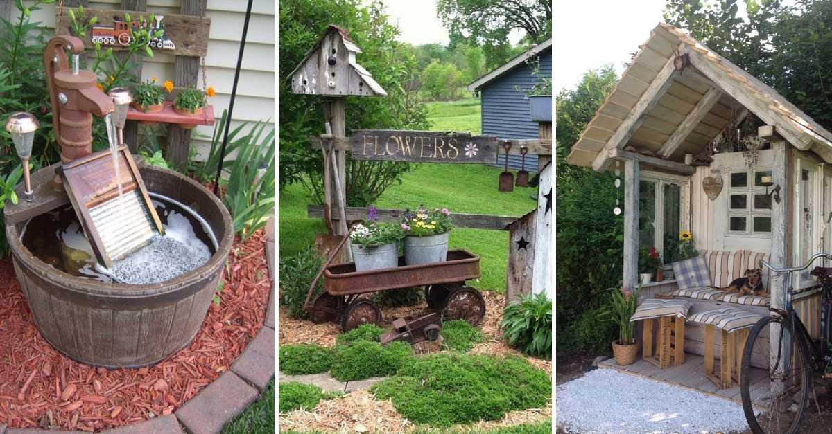 30 Simple And Rustic Diy Ideas For Your Backyard And