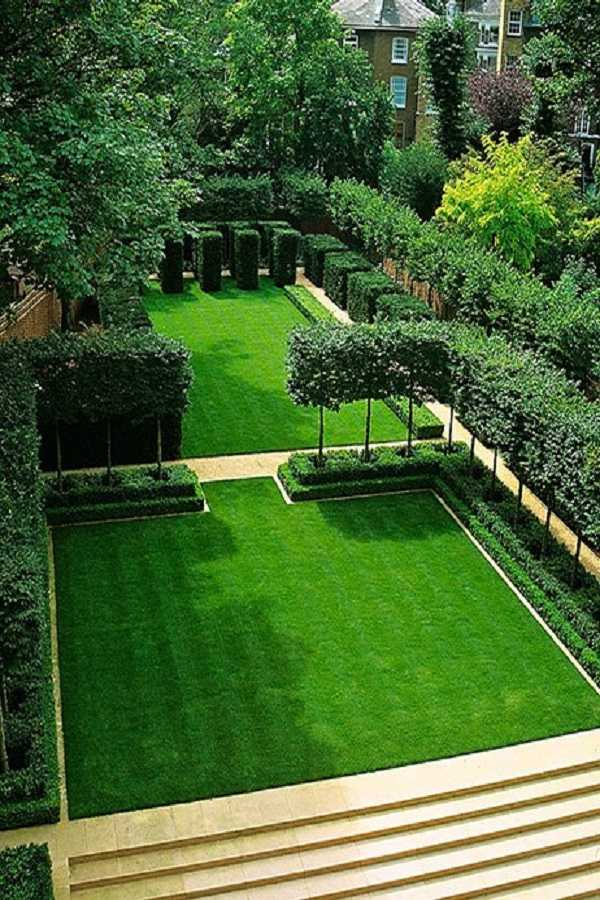 30 Collection Of Backyard Landscaping Layout Design Ideas