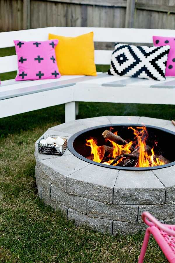 DIY Fire Pit Ideas1