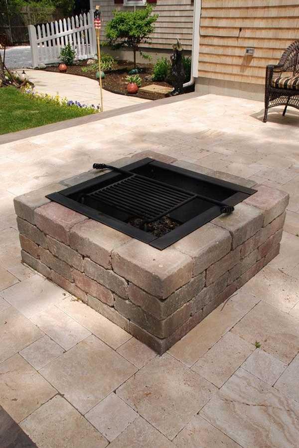 DIY Fire Pit Ideas12