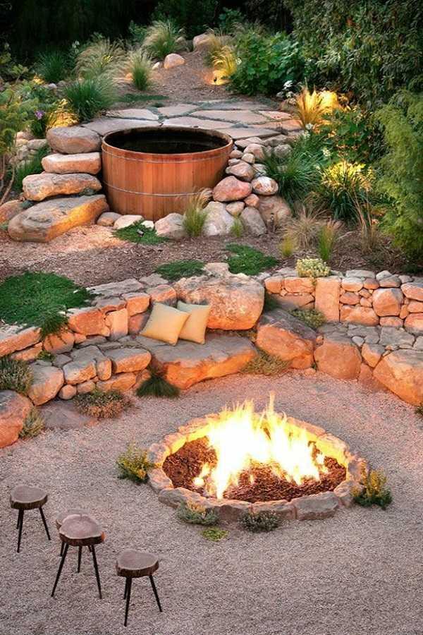 DIY Fire Pit Ideas19