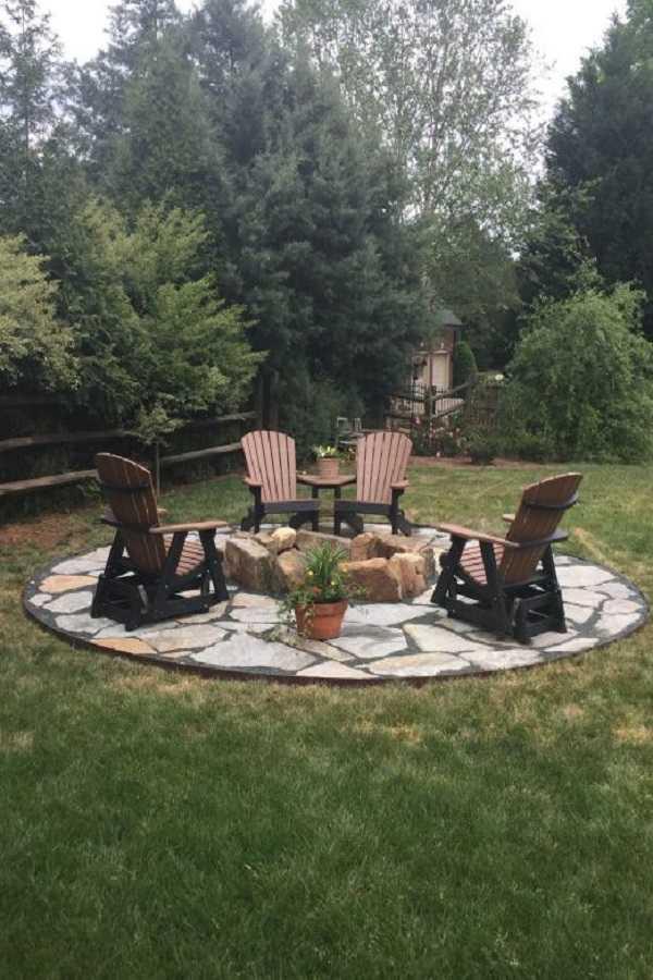 DIY Fire Pit Ideas23