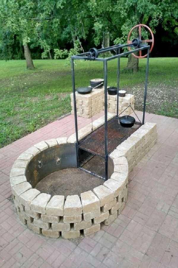 DIY Fire Pit Ideas6
