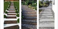 Cheap walkway ideas