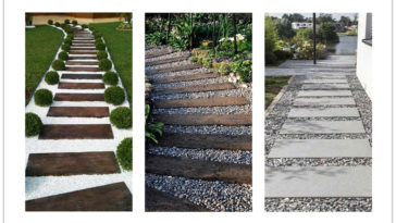 Cheap walkway ideas