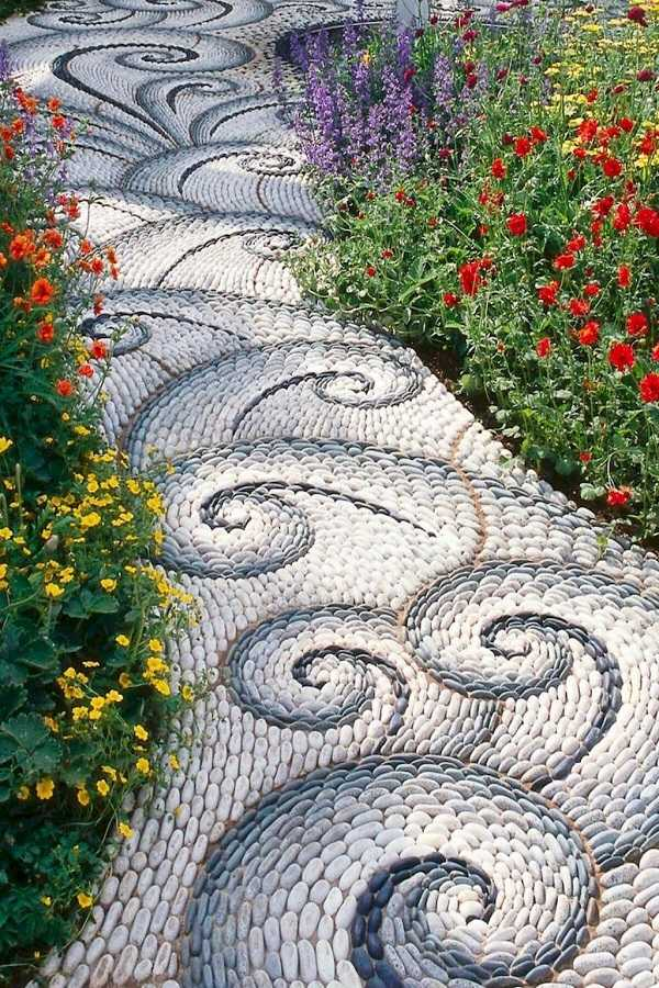 Cheap walkway ideas25