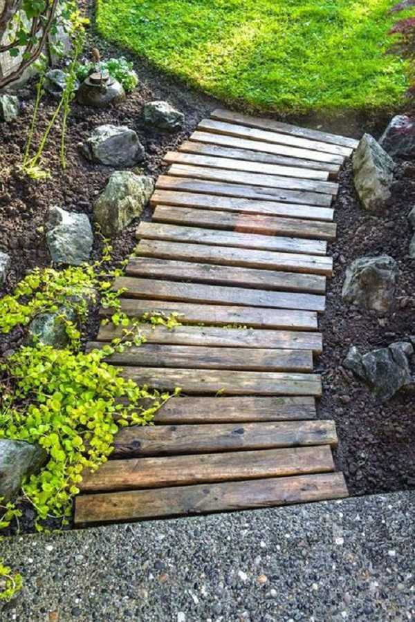 Cheap walkway ideas27