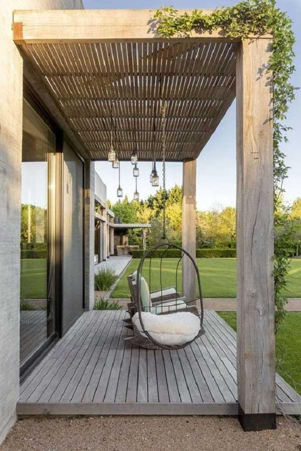 Pergola landscaping Design Ideas11