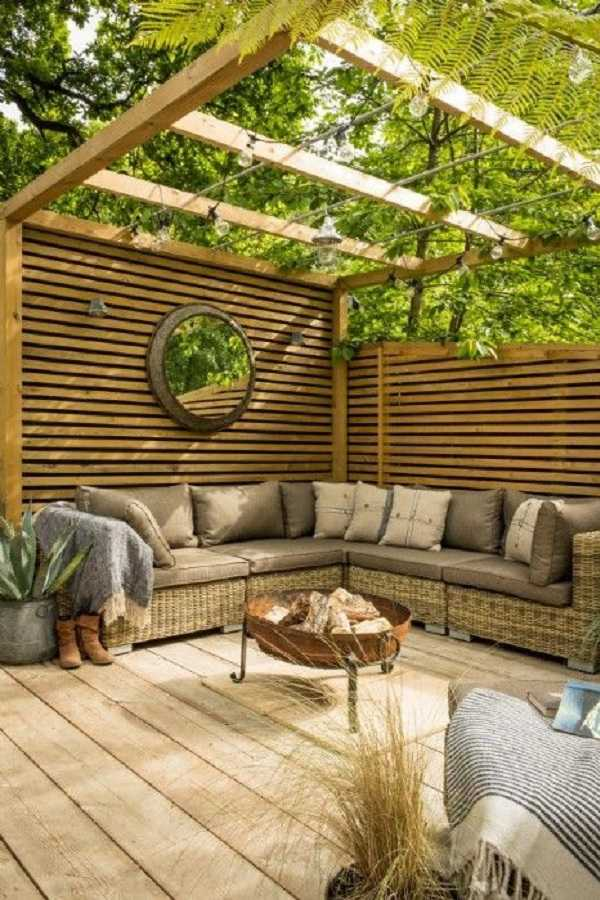 Pergola landscaping Design Ideas22
