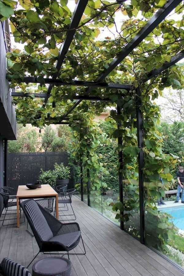 Pergola landscaping Design Ideas7