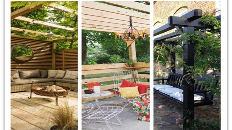 outdoor room Pergola Design Ideas