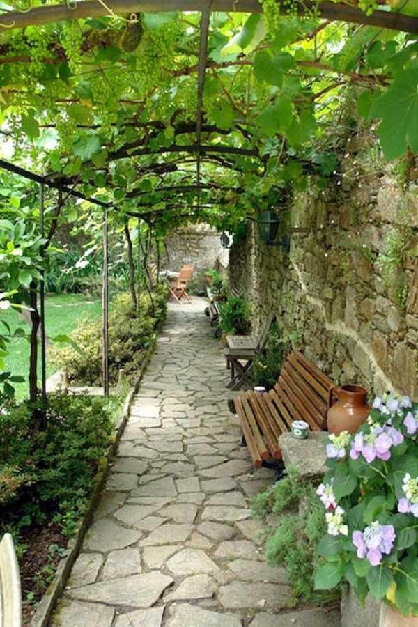 outdoor room Pergola Design Ideas11