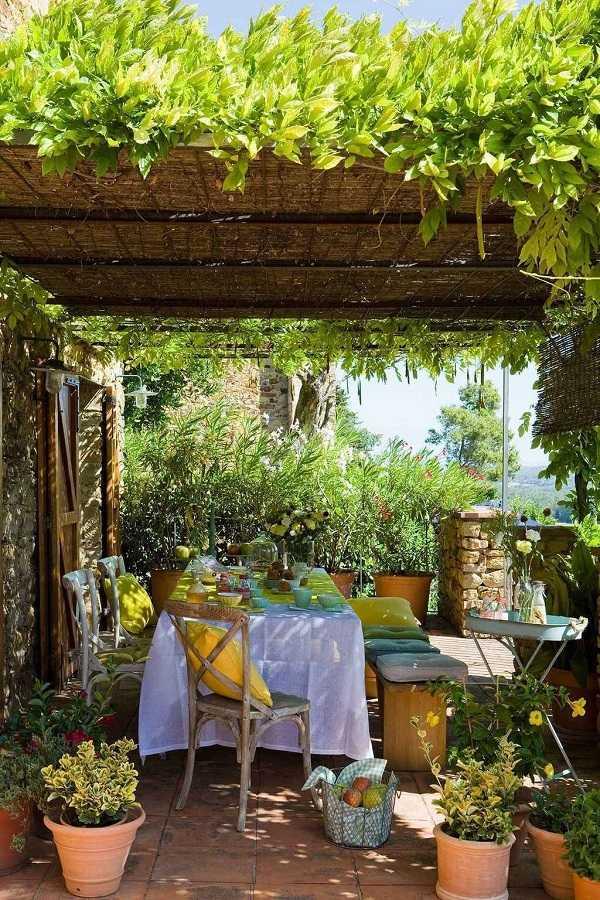 outdoor room Pergola Design Ideas14