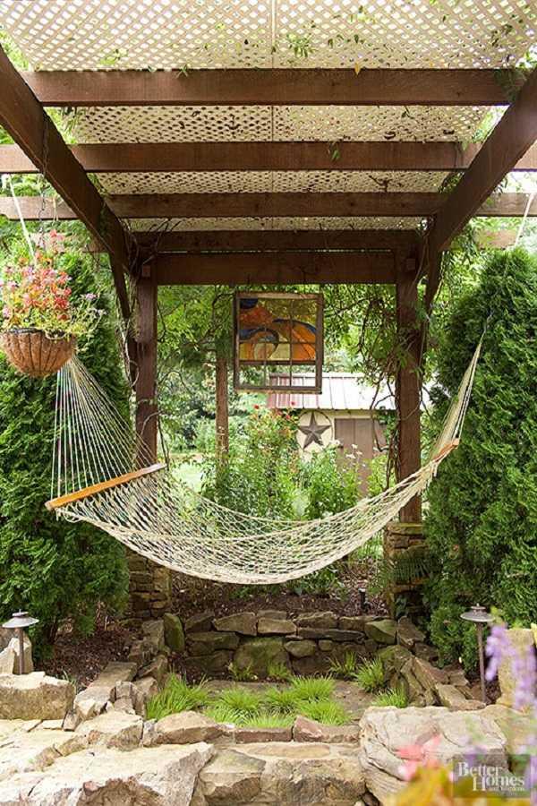 outdoor room Pergola Design Ideas15