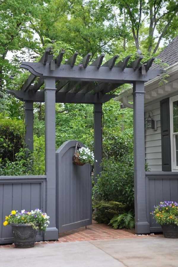outdoor room Pergola Design Ideas17