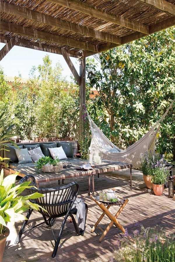 outdoor room Pergola Design Ideas19