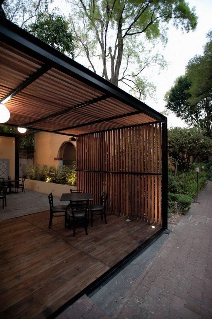 outdoor room Pergola Design Ideas22