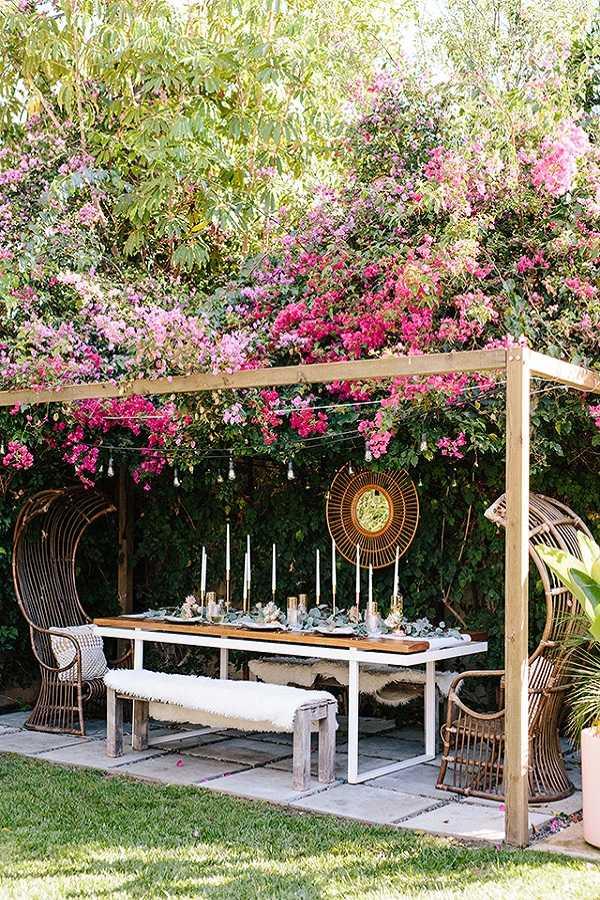 outdoor room Pergola Design Ideas25