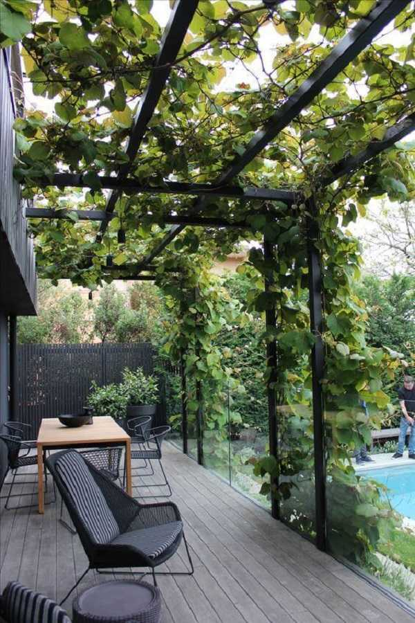 outdoor room Pergola Design Ideas26