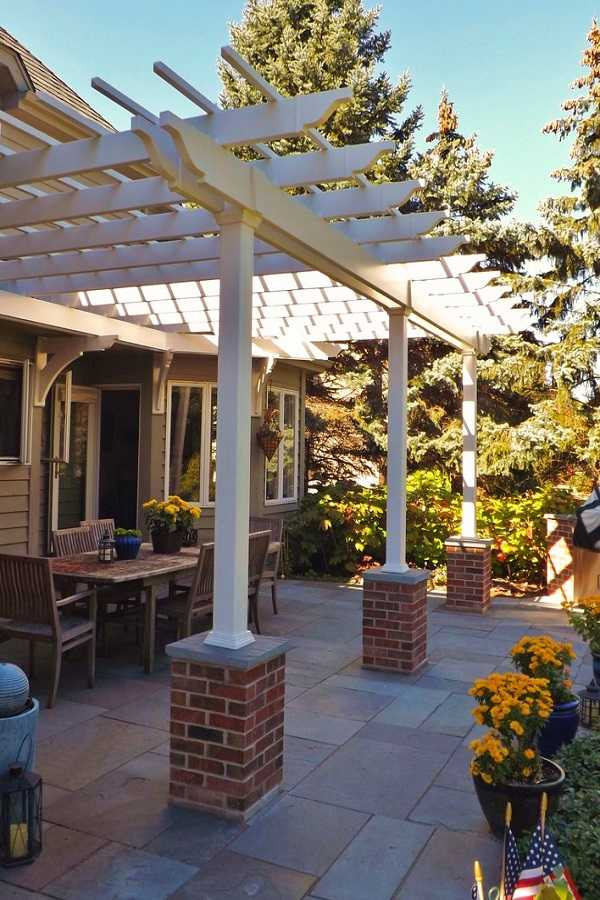 outdoor room Pergola Design Ideas27