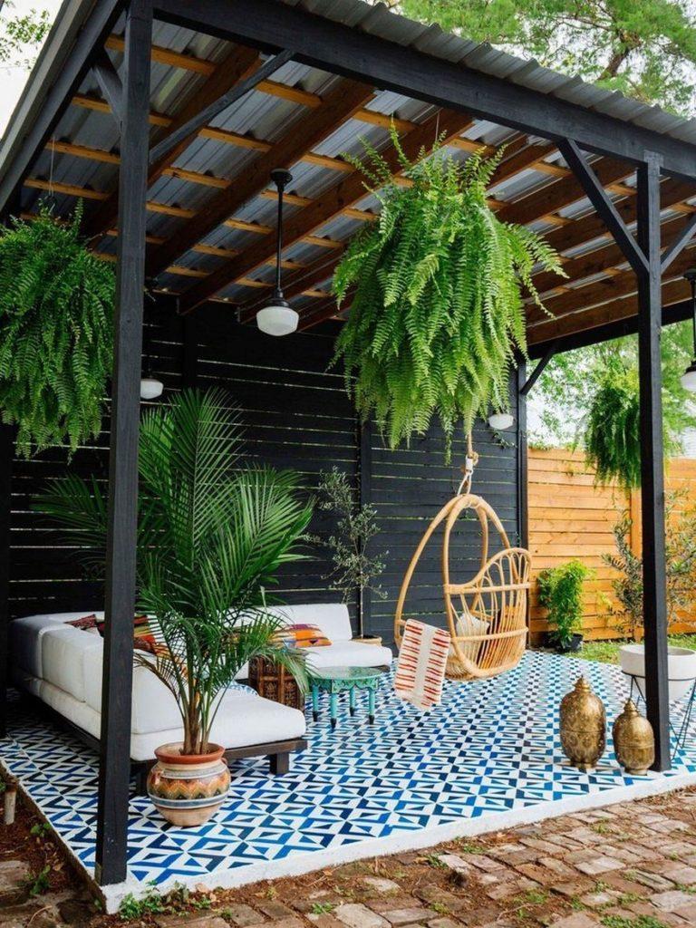 outdoor room Pergola Design Ideas29