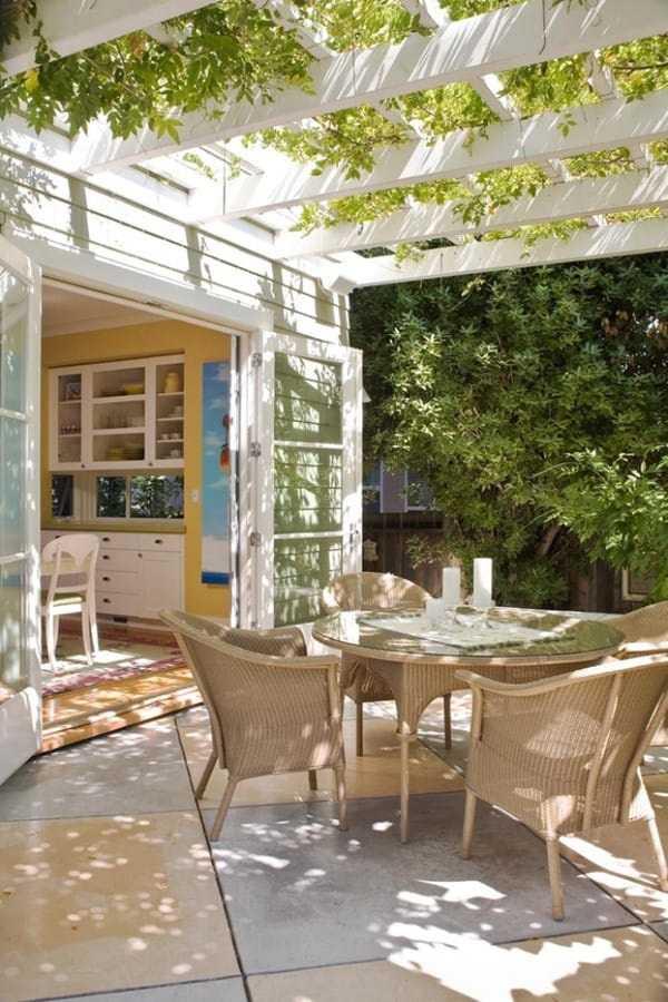 outdoor room Pergola Design Ideas30