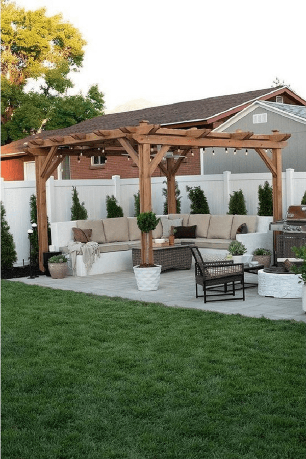 outdoor room Pergola Design Ideas5