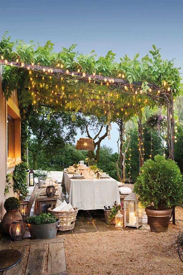 outdoor room Pergola Design Ideas7