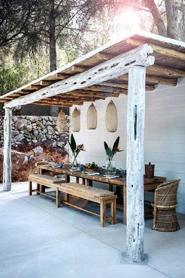 outdoor room Pergola Design Ideas9