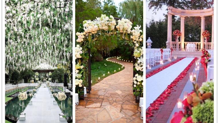 wedding walkway ideas