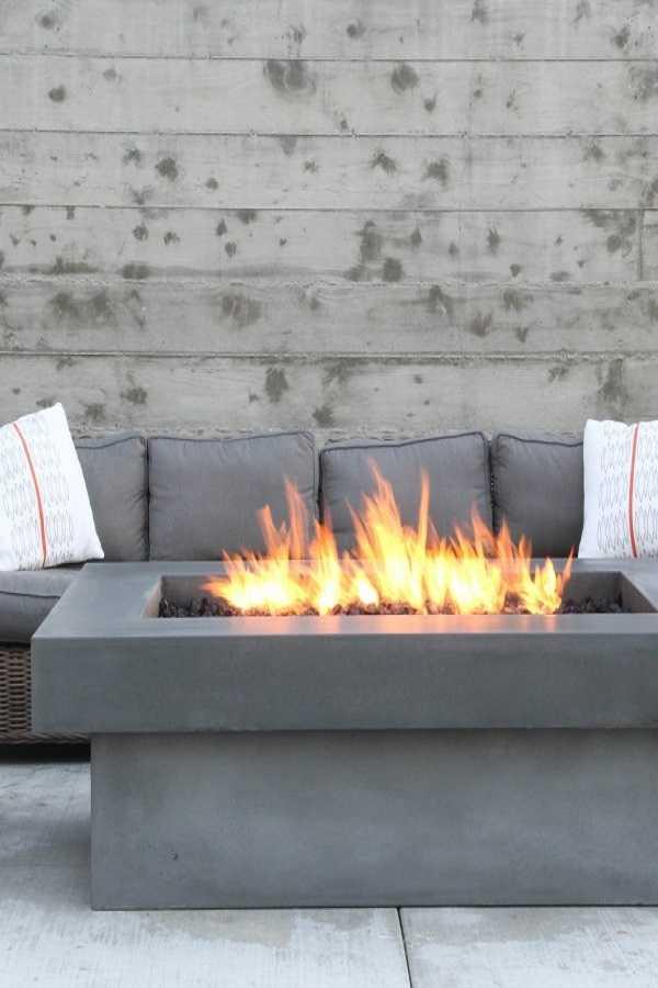 square Fire Pit Ideas1