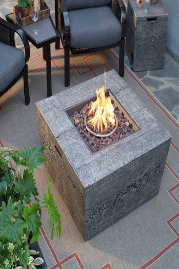 square Fire Pit Ideas15