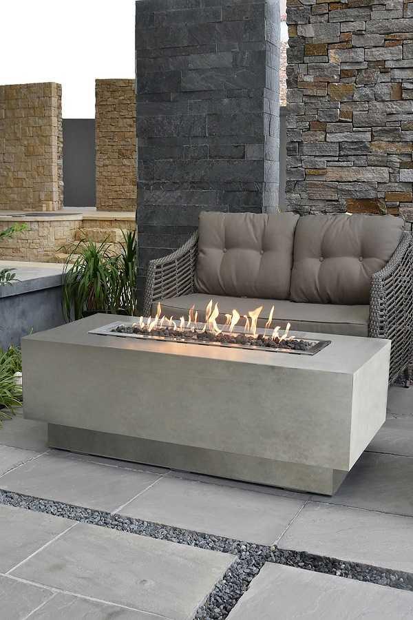 square Fire Pit Ideas24