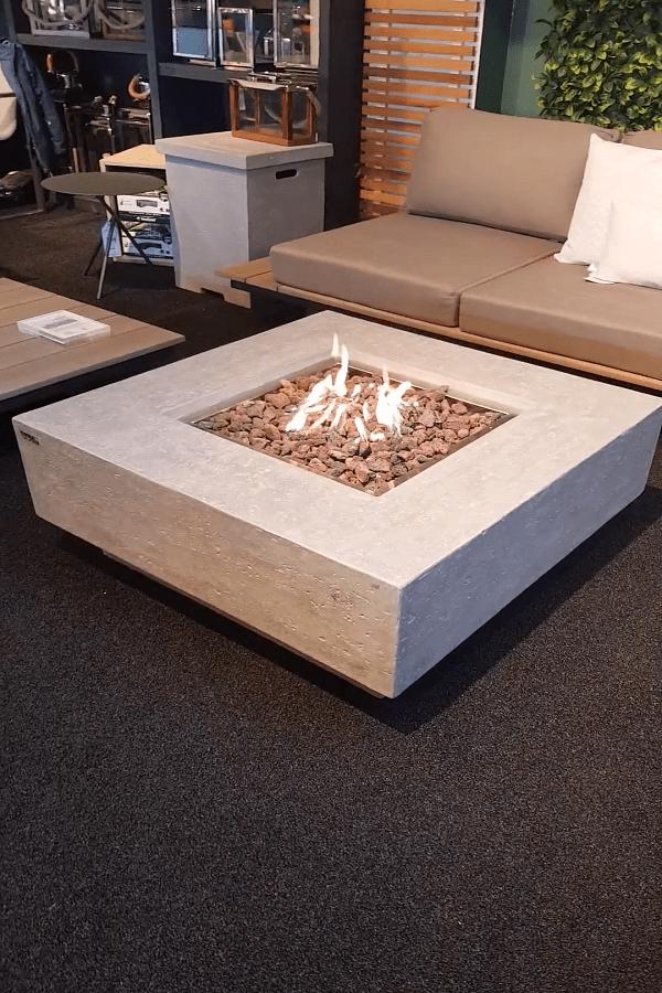 square Fire Pit Ideas29